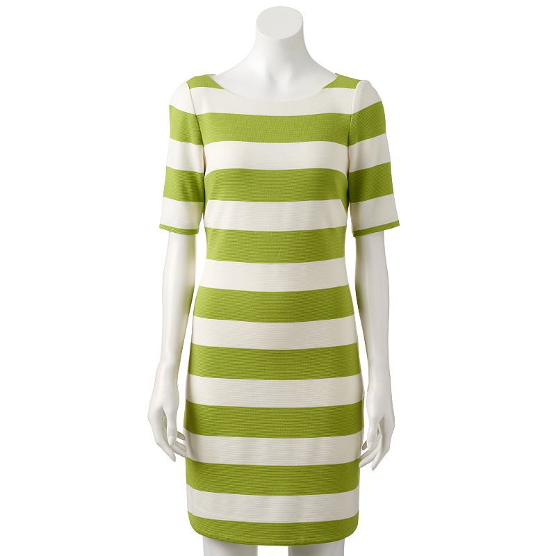 Women's Jessica Howard Striped Sheath Dress