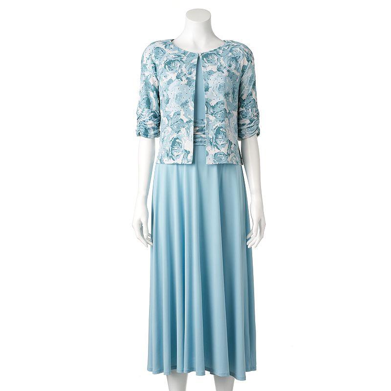 Women's Jessica Howard Floral Dress & Jacket Set