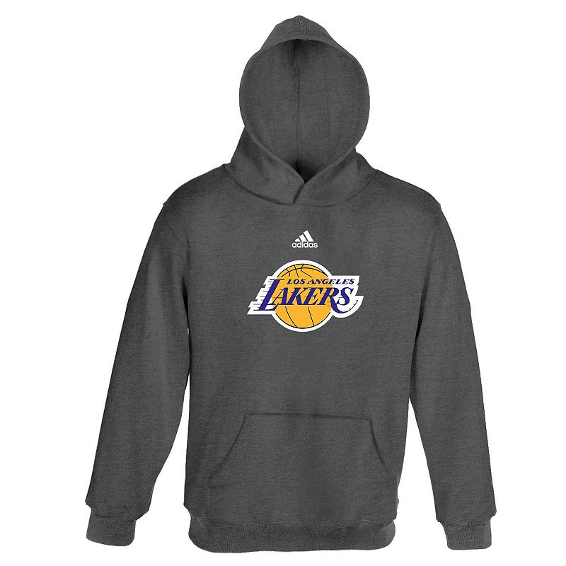 Boys 4-7 adidas Los Angeles Lakers Fleece Hoodie