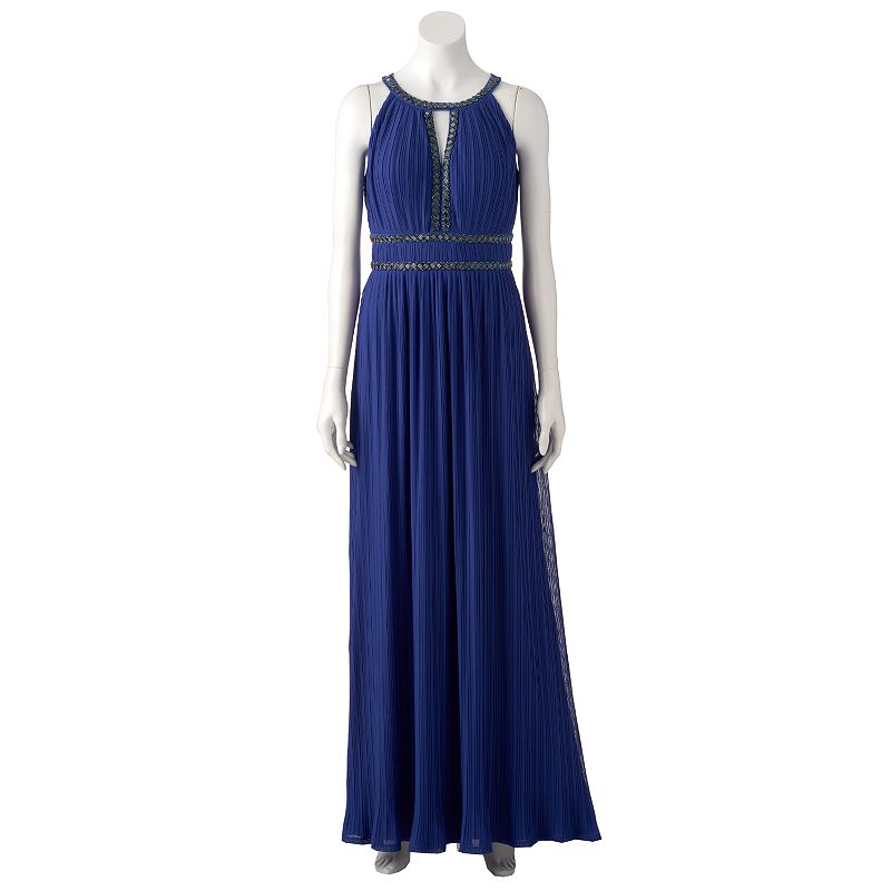 Women's Chaya Embellished Halter Evening Gown