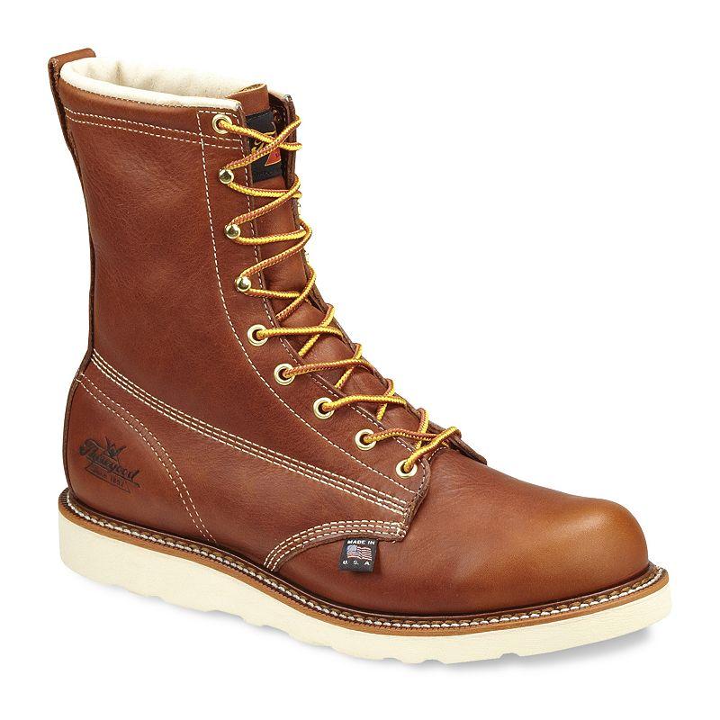 Thorogood American Heritage Men's Waterproof Safety-Toe Work Boots