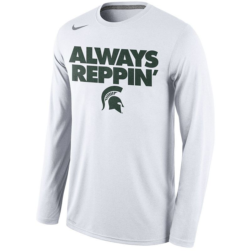 Men's Nike Michigan State Spartans Bench Tee