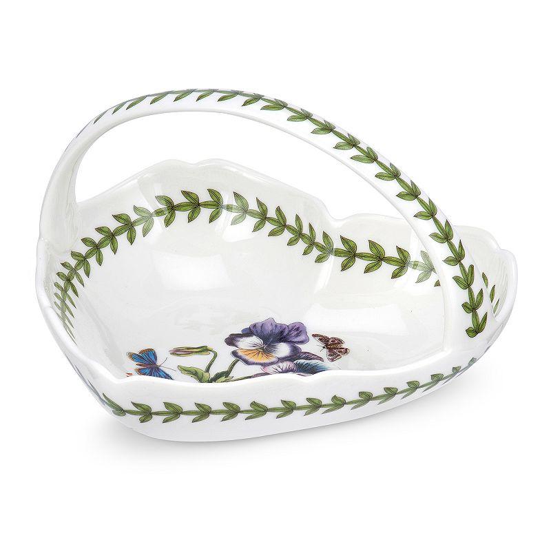 Portmeirion Botanic Garden Heart-Shaped Basket