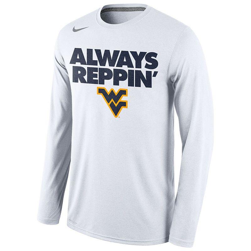 Men's Nike West Virginia Mountaineers Bench Tee