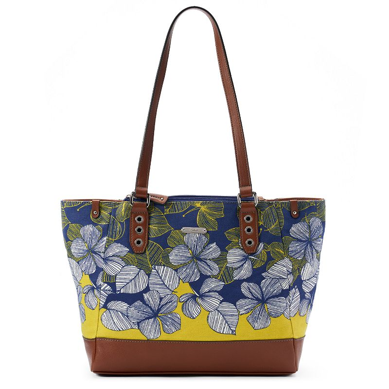 Chaps Valerie Floral Tote