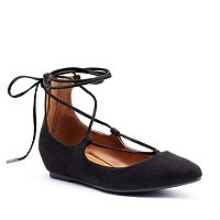 Candie's® Kraizin Women's Lace-Up Flats