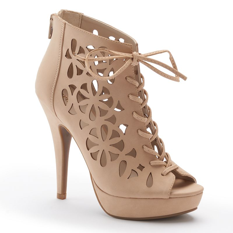 Apt. 9® Women's Floral Cutout High Heels