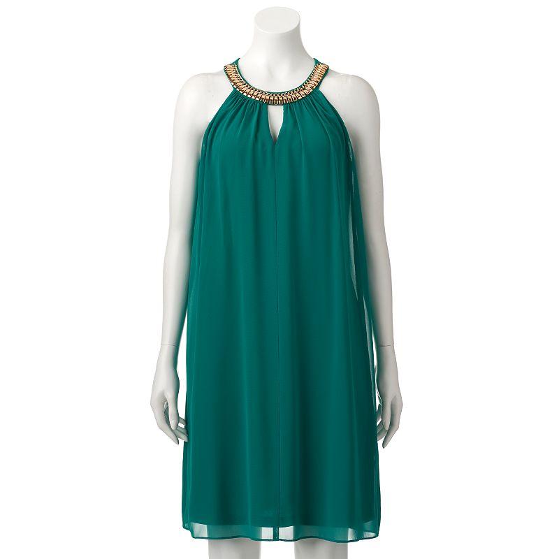 Women's Scarlett Halter Swing Dress