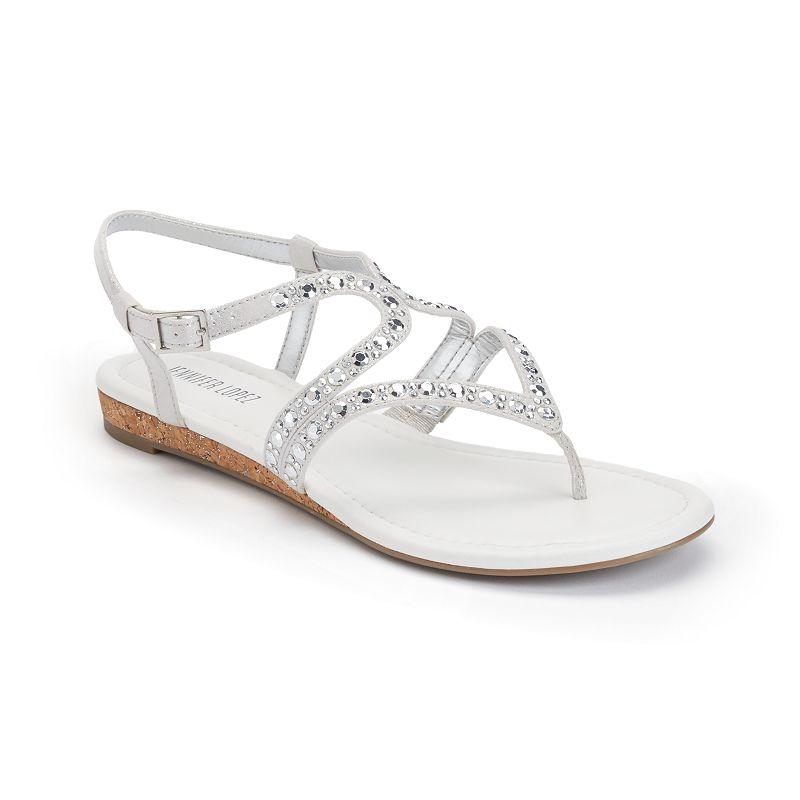 Jennifer Lopez Women's Slingback Sandals