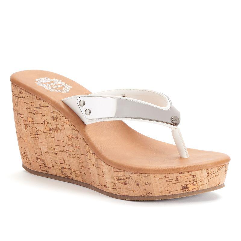 Juicy Couture Women's Wedge Sandals