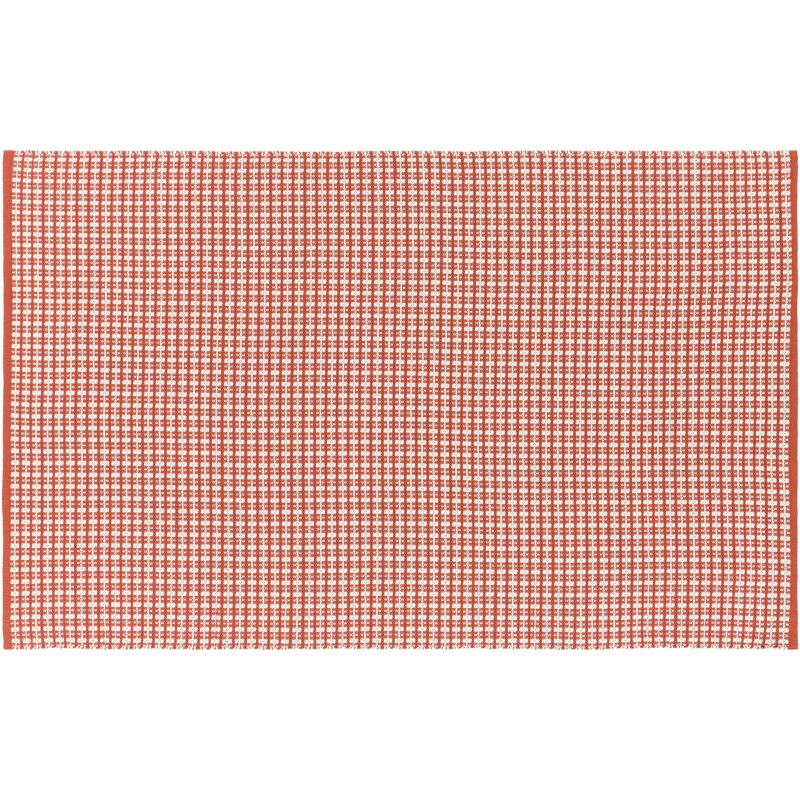 Red 4x6 Indoor Outdoor Rug