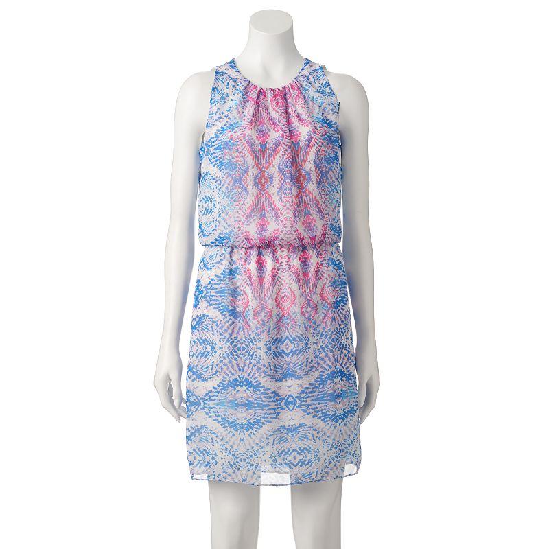 Women's Suite 7 Kaleidoscope Blouson Dress