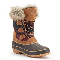 Totes Lynn Women's Winter Duck Boots