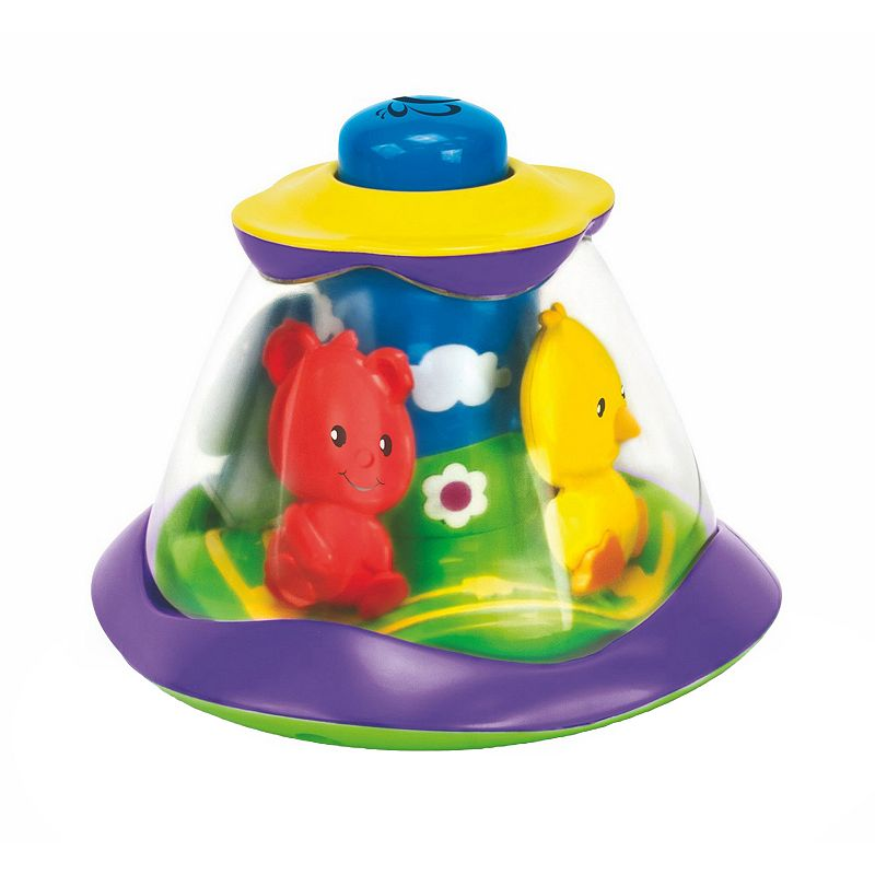 Papillon Push & Spin Forest Carousel Baby Toy