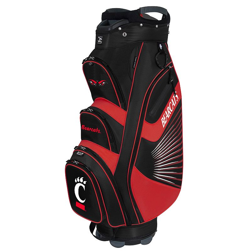 Team Effort Cincinnati Bearcats The Bucket II Cooler Cart Golf Bag, Multi/None