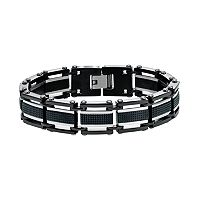 AXL by Triton Men's Two Tone Stainless Steel Bracelet