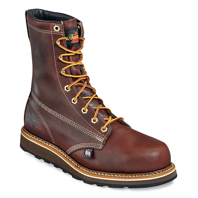Thorogood American Heritage Men's Safety-Toe Work Boots