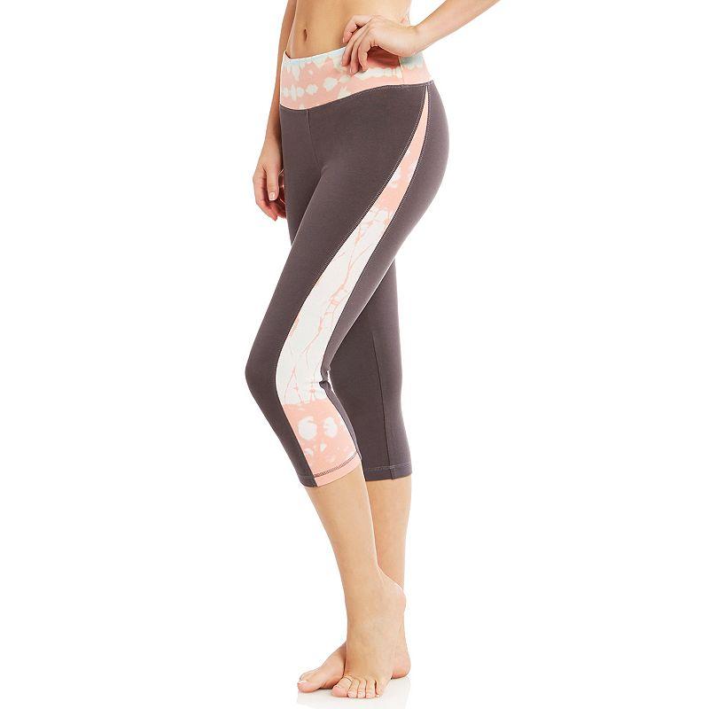 Women's Balance Collection Tie-Dye Victory Capri Yoga Leggings