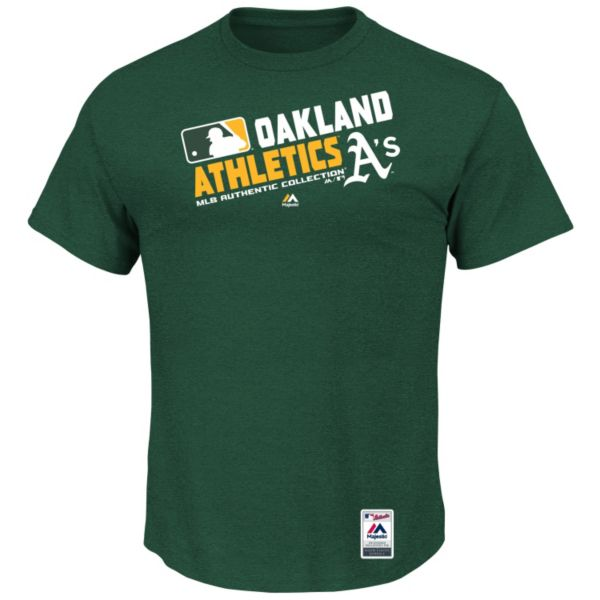 Big & Tall Majestic Oakland Athletics AC Team Choice Tee