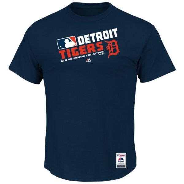 Big & Tall Majestic Detroit Tigers AC Team Choice Tee