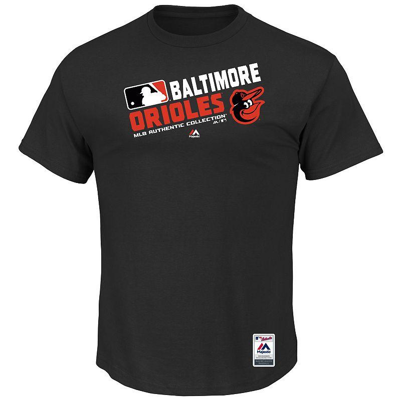 Big & Tall Majestic Baltimore Orioles AC Team Choice Tee