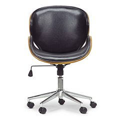 Baxton Studio Bruce Office Chair by