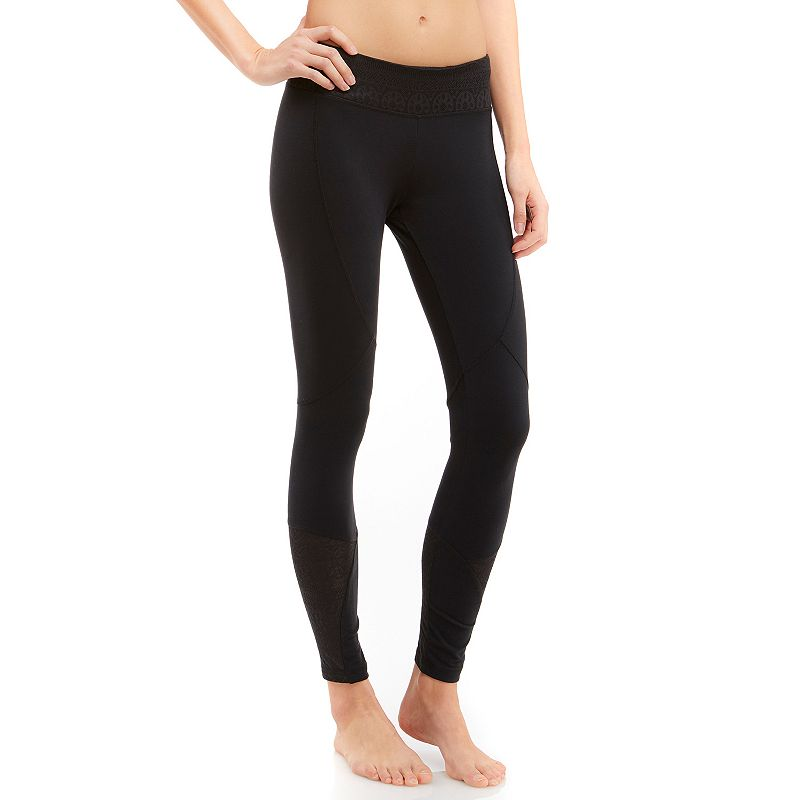 Women's Balance Collection Mesh Panel Workout Tights