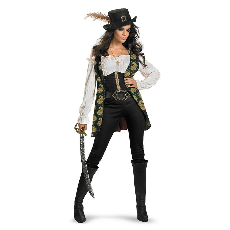 Disney Pirates of the Caribbean 4: On Stranger Tides Angelica Deluxe Costume - Adult Plus