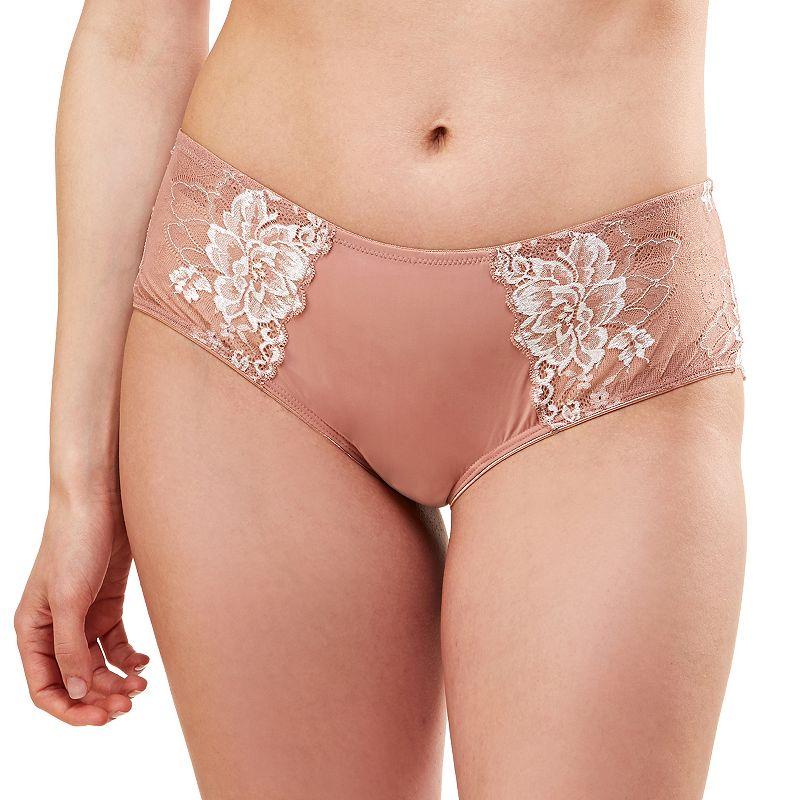 Lunaire Limoges Lace Sheer Back Bikini Panty 29732