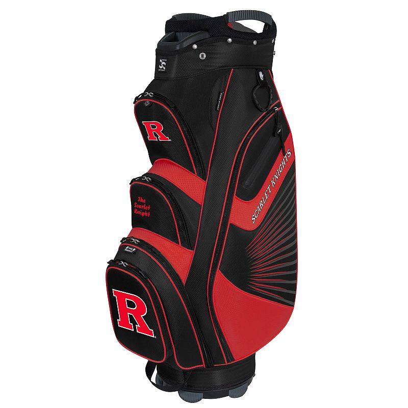 Team Effort Rutgers Scarlet Knights The Bucket II Cooler Cart Golf Bag