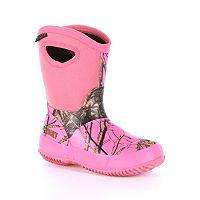 Rocky Mossy Oak Core Girls' Waterproof Boots
