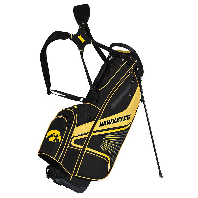 Team Effort Iowa Hawkeyes Gridiron III Golf Stand Bag