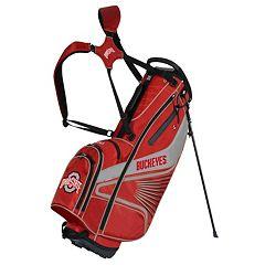 Team Effort Ohio State Buckeyes Gridiron III Golf Stand Bag