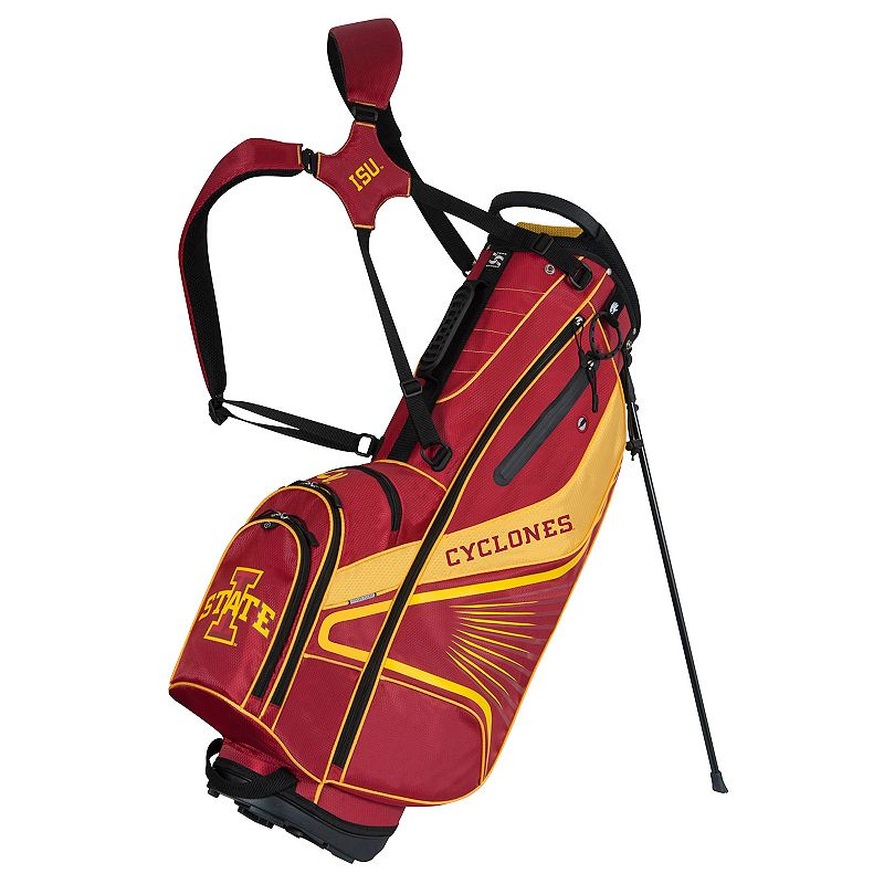 Team Effort Iowa State Cyclones Gridiron III Golf Stand Bag, Multi/None