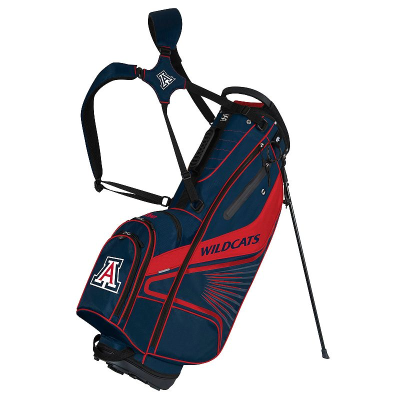 Team Effort Arizona Wildcats Gridiron III Golf Stand Bag, Multi/None