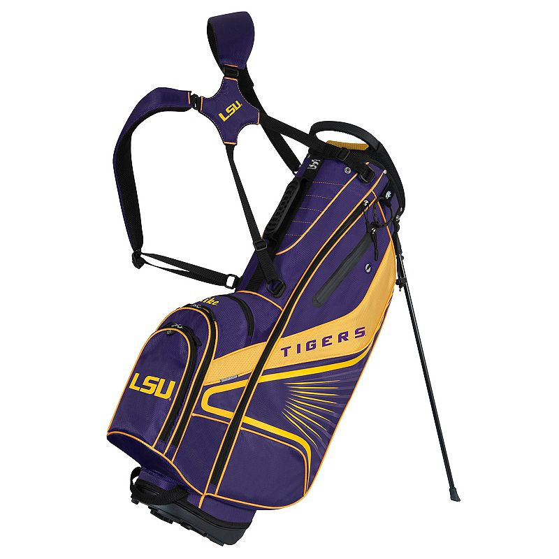 Team Effort LSU Tigers Gridiron III Golf Stand Bag