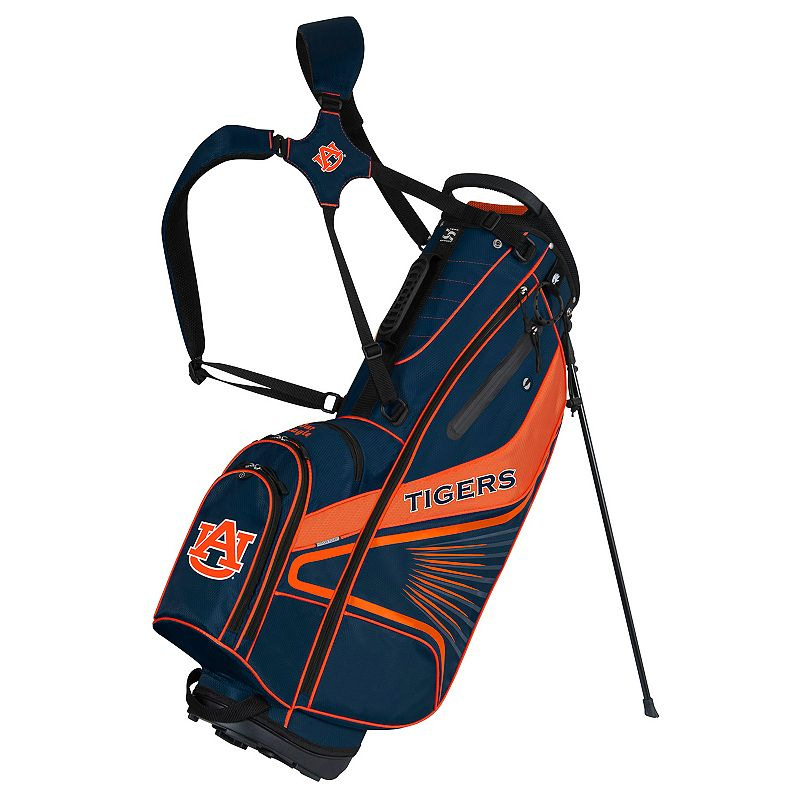 Team Effort Auburn Tigers Gridiron III Golf Stand Bag, Multi/None