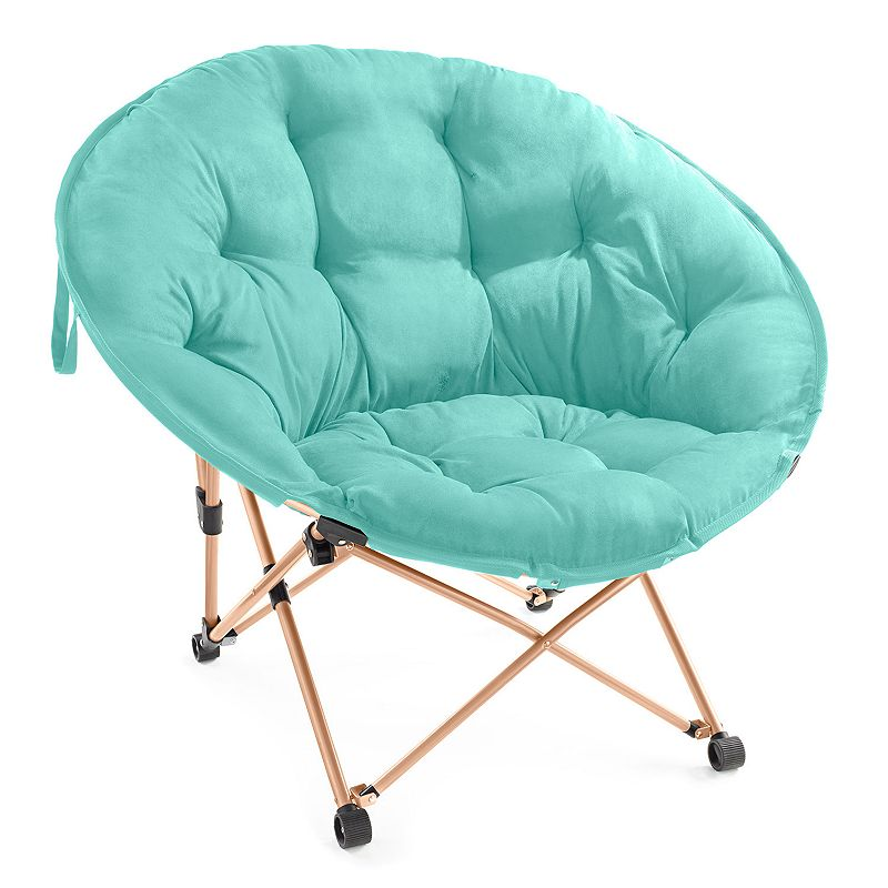 Simple By Design Memory Foam Saucer Chair
