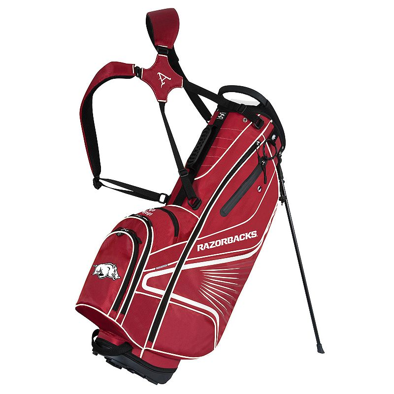 Team Effort Arkansas Razorbacks Gridiron III Golf Stand Bag