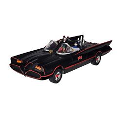 DC Comics Batman Classic Batmobile with Bendable Batman & Robin Action Figures by Toysmith... by
