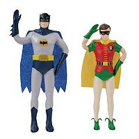 DC Comics Batman Classic TV Series Bendable Batman & Robin Action Figures by Toysmith