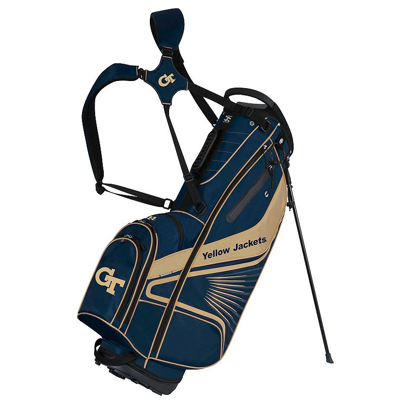 Team Effort Georgia Tech Yellow Jackets Gridiron III Golf Stand Bag, Multi/None