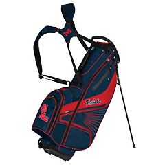 Team Effort Ole Miss Rebels Gridiron III Golf Stand Bag