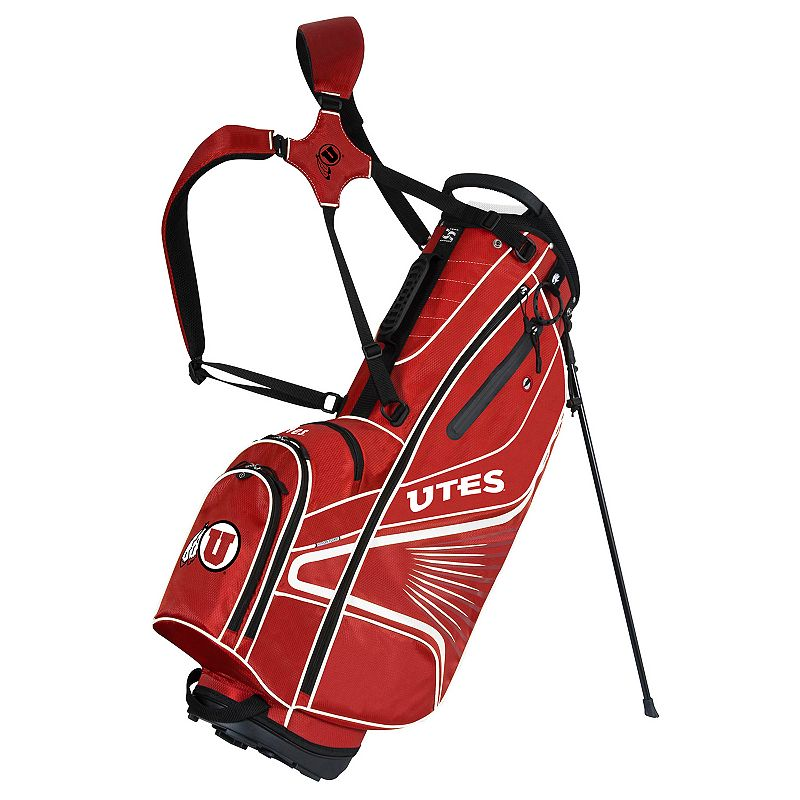 Team Effort Utah Utes Gridiron III Golf Stand Bag
