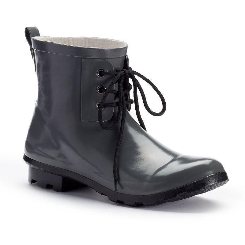 Chooka Women's Waterproof Ankle Rain Boots