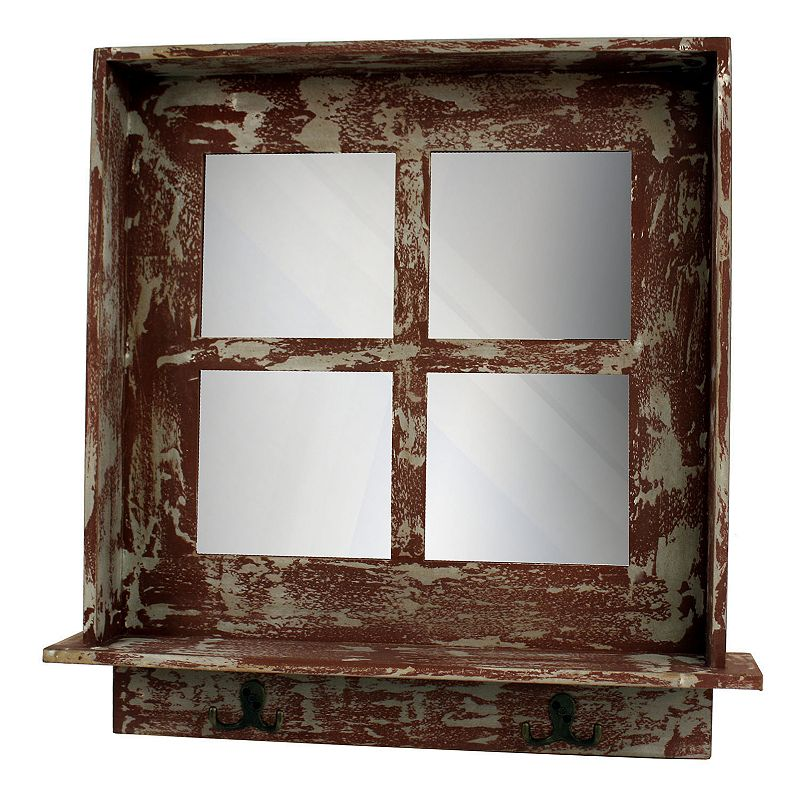 Decor Therapy Distressed Mirror Wall Decor