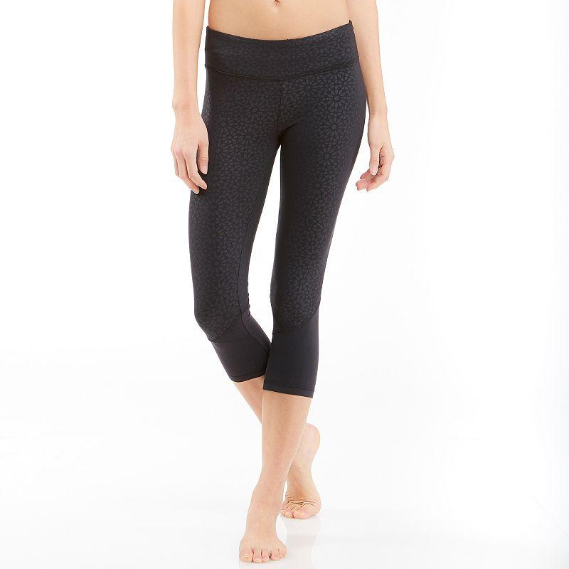 Women's Balance Collection Adela Spliced Capri Workout Tights