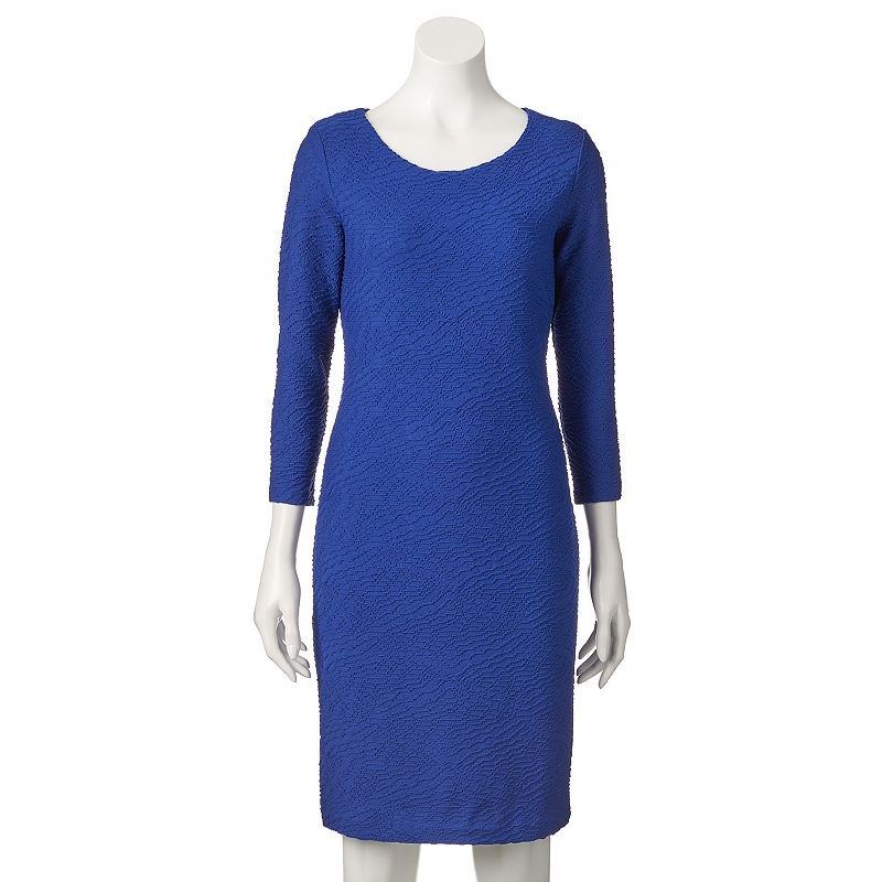 Women's Dana Buchman Textured Sheath Dress