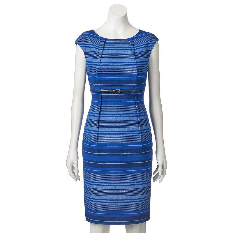 Women's Dana Buchman Striped Sheath Dress