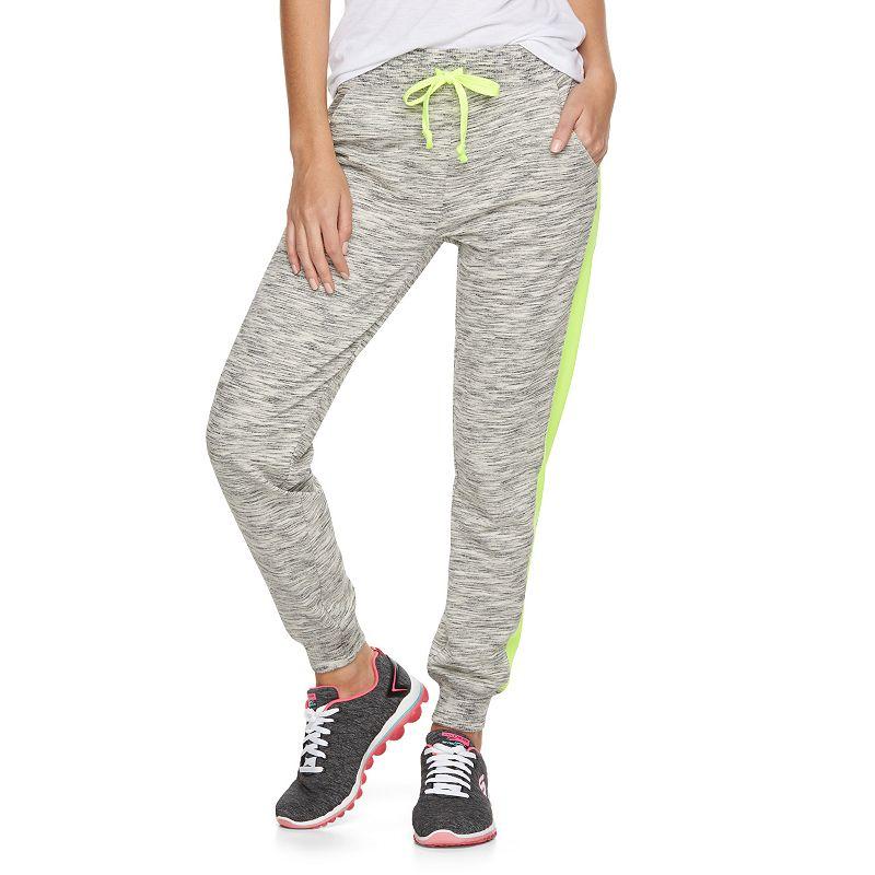 Juniors' SO® Contrast Panel Jogger Pants